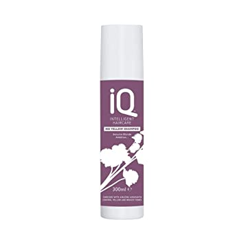 IQ Intelligent Haircare No Yellow Shampoo 300 ml  Amazon.co.uk  Beauty 4aae30b00ea1