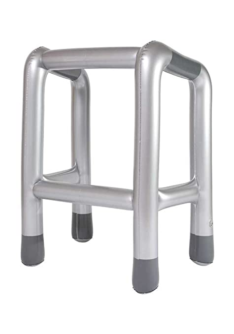 Inflatable Zimmer Frame Party Accessories / Oldies Birthday Joke ...