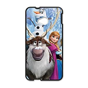 Happy Charming Frozen girl Cell Phone Case for HTC One M7