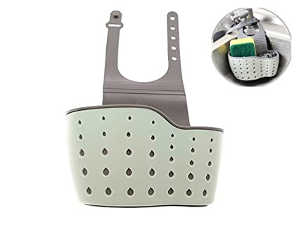 Kinteshun Kitchen Sink Caddy Sponge Holder Hang Basket For Scrubber Dish  Brush Kitchen Accessories Organizer (