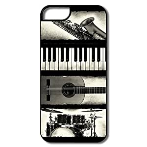 New Design Shells Funny Music Elements For IPhone 5/5s