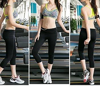 Women Shockproof Wirefree Sport Underwear Girl Quick Dry Yoga Running Bra green L