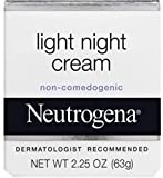 Enjoy softer, smoother skin overnight with Neutrogena Light Night Cream. This light yet effective night cream provides an immediate surge of moisture and continues to provide increased moisturization to skin for eight hours. The Dermatologist Recomme...