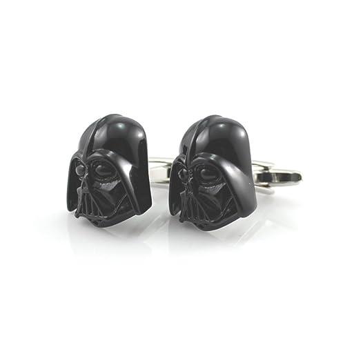 Pintura negro y plateado Casco Máscara de Darth Vader, Lord Sith Star Wars Gemelos de