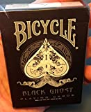 Ellusionist Bicycle Ghost Black Magic 1st Edition Playing Cards Circa 2005 - One of a Kind- Rare Magicians Limited Classic Deck - United States Playing Cards Company