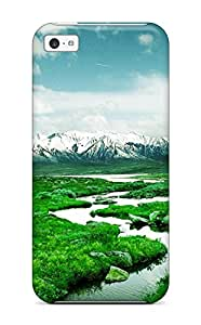 Faddish Phone Norway Mountain River Case For Iphone 5c / Perfect Case Cover