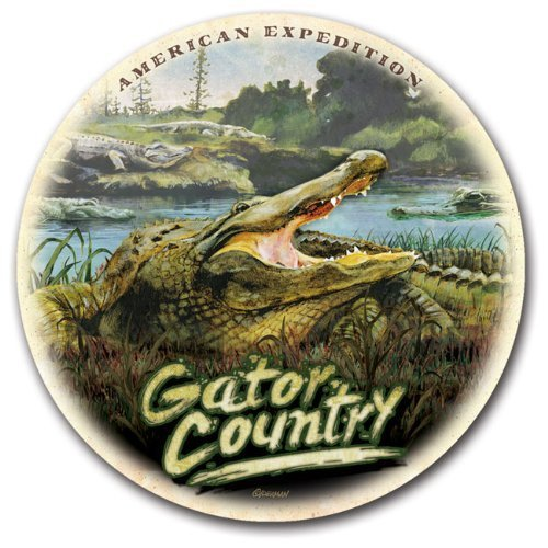 (Stone Coaster Sets Regional Collage Design (Gator Country) by American Expedition)