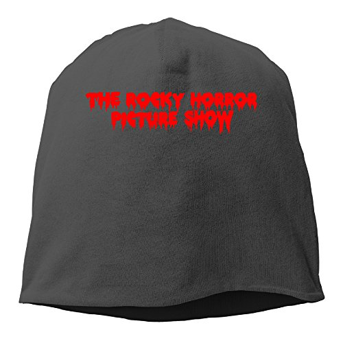 [JBG The Rocky Horror Picture Show One Size Warm Cap Black] (Male Costumes Rocky Horror)