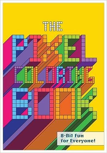 Knock Knock Pixel Coloring Book Knock Knock 9781601064905 Amazon
