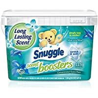 Snuggle Laundry Scent Boosters Blue Iris Bliss Tub 115 Count