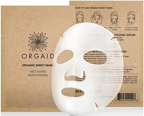 Facial Treatments: Orgaid Sheet Mask