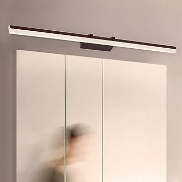 William 337 Luces LED de maquillaje, luces delanteras modernas del espejo, luces del gabinete del cuarto de baño ...