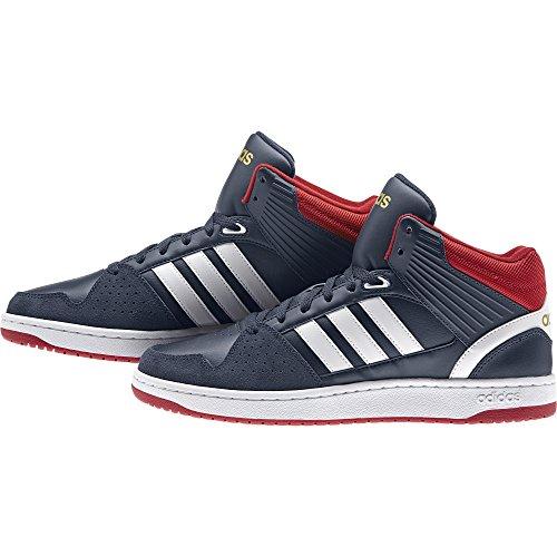 Jumpshot Scarpe Uomo Adidas Sportive varios Ftwbla azul Colores Blu maruni Hoops Dormat Mid xTUB4A