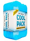 Healthy Packers Ice Pack for Lunch Box - Freezer Packs - Original Cool Pack (Set of 6) | Slim & Long-Lasting Ice Packs for Your Lunch or Cooler Bag