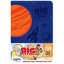 Big Picture Interactive Bible for Kids, Boys Duotone LeatherTouch: Connecting Christ Throughout God's Story