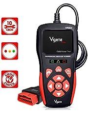 vgate Scanner OBD2 VR800, leitor de código de falha do motor OBD2, ferramenta profissional de digitalização de diagnóstico EOBD OBDII CAN