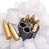 Whiskey Stones Bullets with Base - Gold XL Whiskey