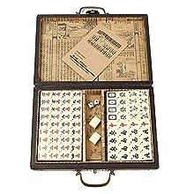 Ray-Velocity Chinese Mini Mahjong Game Set 144 Tiles (Mahjongg, Mah-Jongg, Mah Jongg, Majiang)-LongFeng