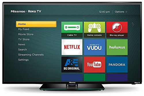 Hisense 40H4C 40-Inch 1080p Roku Smart LED TV (2015 Model) review
