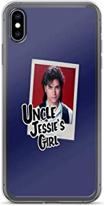 iPhone XR Case Clear Anti-Scratch Uncle Jessie's Girl, John Stamos Cover Phone for iPhone XR, Crystal Clear