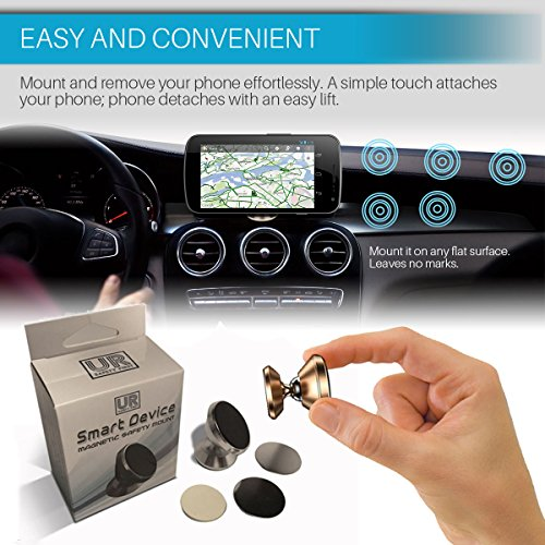 Cell Phone Magnetic Car Mount Hands Free Phone Holder Universal Use All iPhone Samsung Galaxy Uber Lyft Useful Gadgets Useful Gifts For Adults Techie Gifts For Men VALENTINES GIFTS FOR HIM HER Photo #2