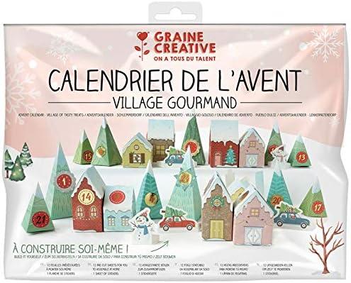 Kit Calendrier de lAvent Village Gourmand
