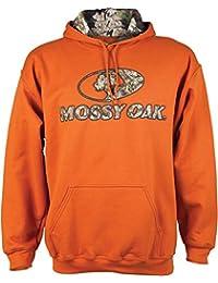 Mossy Oak Men's Camo-Lined Hoodie