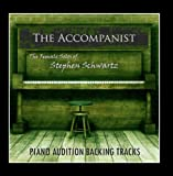 The Female Solos of Stephen Schwartz (Piano Audition Backing Tracks)