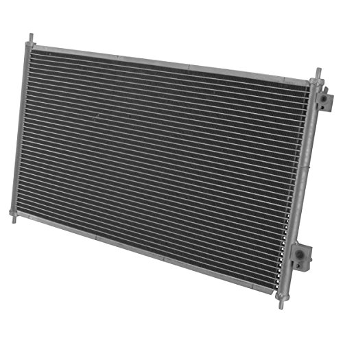 AC Condenser A/C Air Conditioning for 01-05 Honda Civic 1.7L Brand (Honda Civic Air Conditioning)