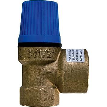 """10 bar Caleffi Membran Sicherheitsventil /Überdruckventil Wasser 1//2/"""" x 3//4/"""""""