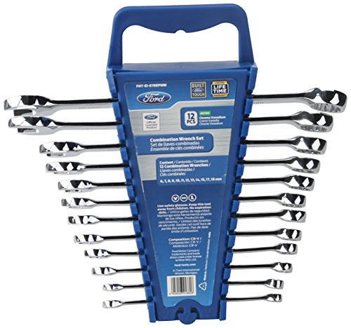Ford 12-Piece Combo Wrench Set Metric