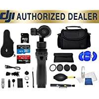 DJI Osmo Handheld 4K Camera and 3-Axis Gimbal Beginner Accessory Starter Basic Bundle Package Deal