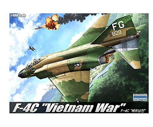 Academy Vietnam War F-4C Plastic Model Kits 1/48 Scale