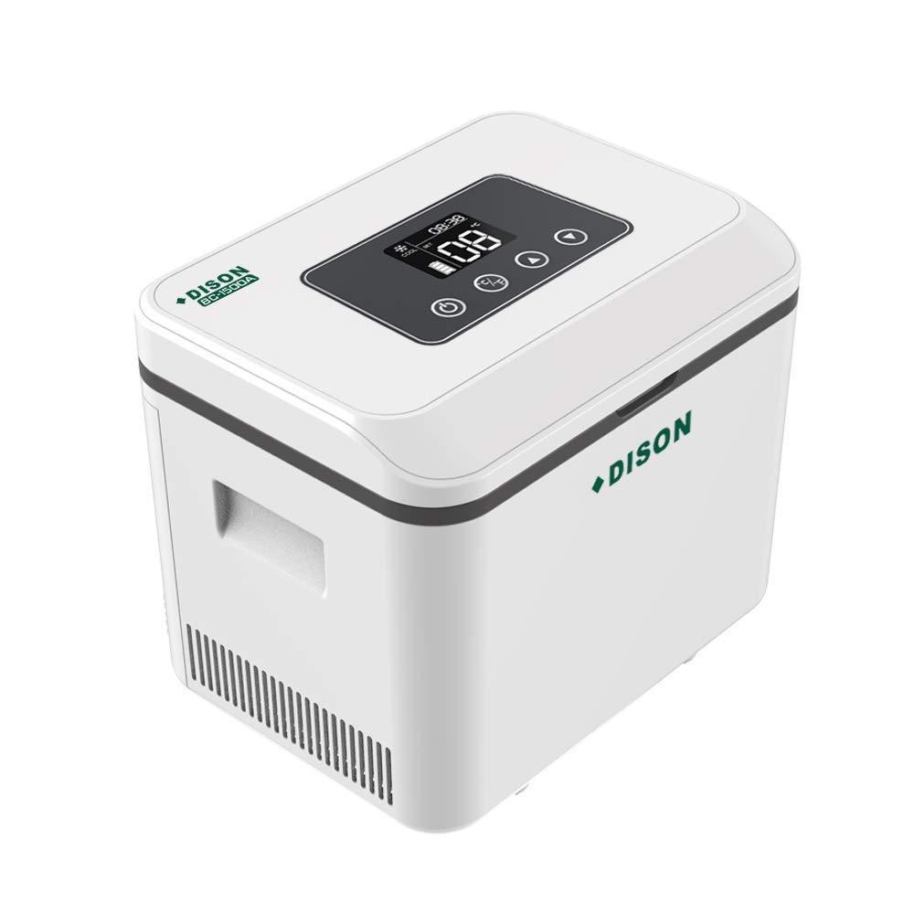 TuTu Home Portable Cooler Refrigerated Box, LCD Display 2-8℃ Reefer Mini Fridge Small Insulin Cooler Machine