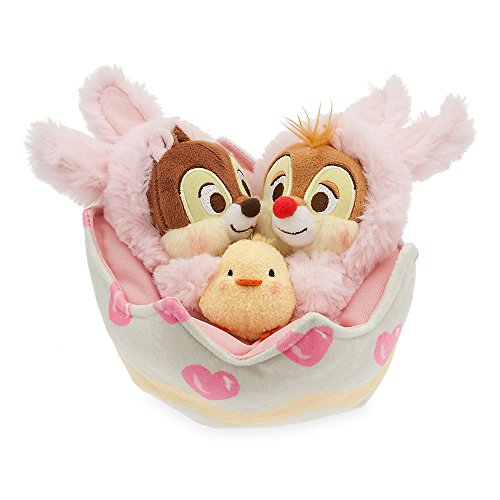 Disney Chip 'n Dale Plush Easter Basket Set - Mini (Disney Easter)