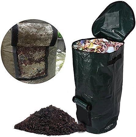 Amazon.com: us-poptrading bolsas biodegradables, hojas de ...