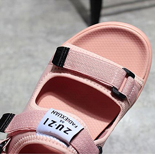 Spiaggia Estiva Nvxie Libero Modi Pantofola Di Sandali Indossare Stagione Nero All'aperto Da Spesso Sportivo Scarpe Due Donna Tempo Fondo wzAIFz