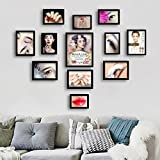 ZGP Home@Wall photo frame Beauty Nail Tattoo Decoration Painting Semi-permanent Makeup Eyebrow Lip Photo Wall Cosmetics Shop Decorative Wall Hanging Photo Frame (Color : C)