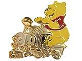 Disney Cast Lanyard Series 1 Winnie the Pooh on Gold Train Car Pin