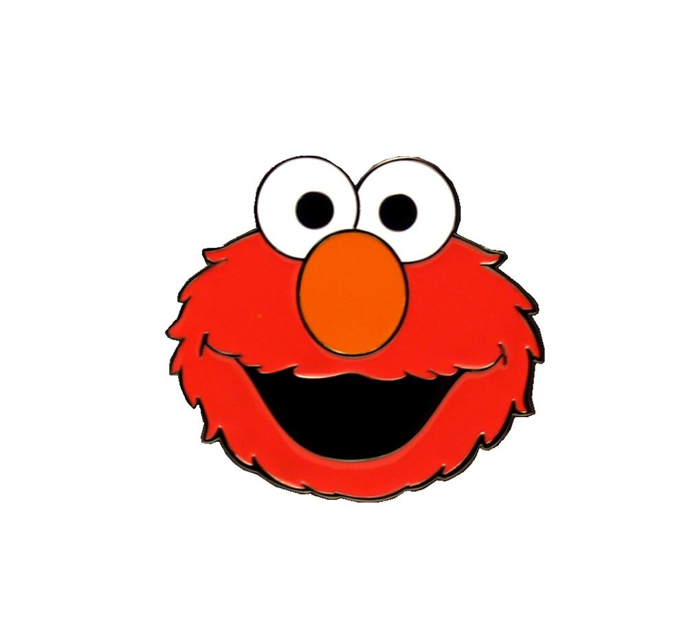 Elmo Red Belt Buckle Toy Zany Bb120699ses