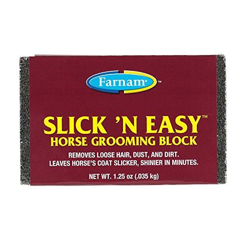 Easy Horse Grooming Block - Farnam. Slick 'N Easy Horse Grooming Block (Limited Edition)