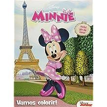 Minnie: Vamos Colorir