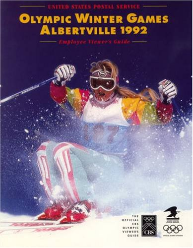 United States Postal Service Olympic Winter Games Albertville 1992 Employee Viewer