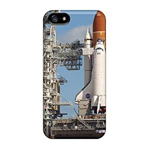 Quality RomeoJr Case Cover With Space Shuttle Nice Appearance Compatible With Iphone 5/5s