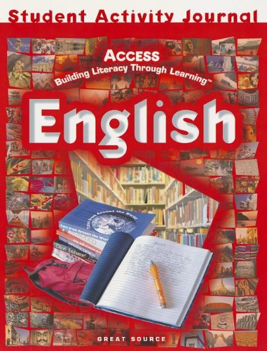 ACCESS English: Student Activities Journal Grades 5-12 (English Journal)