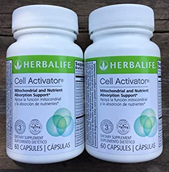Herbalife Cell Activator With Alpha Lipoic Acid - 2-Bottle Pack - 60 Capsules Each
