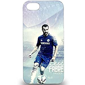 Personalized Chelsea Football Club Player Francesc Fabregas Soler Skin Case For Iphone 5/5s