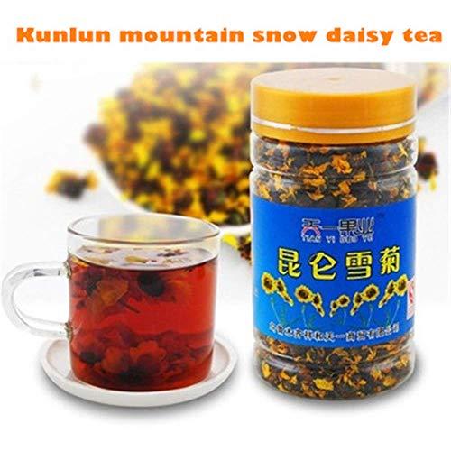 (Net weight 45g (0.10LB) Organic Kunlun mountain snow daisy chrysanthemum tea flower tea Herbal tea scented tea Botanical tea herbs tea Green tea Raw tea Flowers tea Health Tea Chinese)