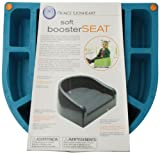 Prince Lionheart Soft Booster Seat, Berry Blue