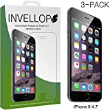 iPhone 6 screen protector, INVELLOP Crystal Clear Apple iPhone 6 (4.7 inch ONLY) High Defintion (HD) Clear Screen Protectors [3-Pack]